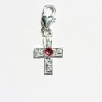 Cross Charm | Have faith in life, the universe, & God